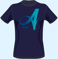 Tシャツ(グラデーション)
