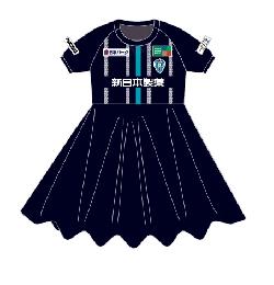 【受注商品】スカート付ユニフォーム/ネイビー(FP-1st)