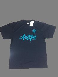 ベーシックTシャツ(ブルーペールプリント)